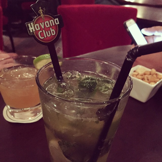 #Cocktail Havanarito au #HarrysBar #havanaclub #bar