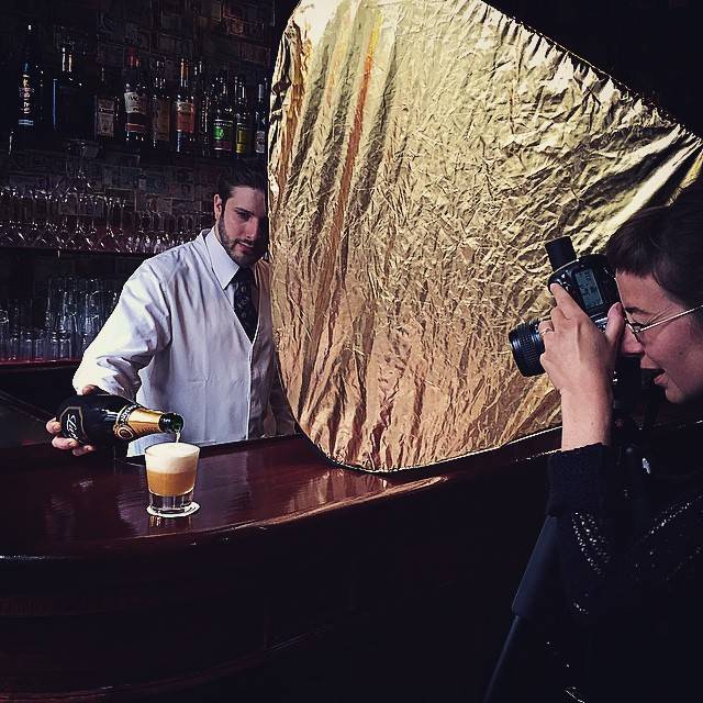 #shooting #photo des #cocktails pour le nouveau #website du #harry's #bar à #paris #cocktailsbar