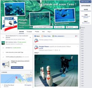 Fanpage Facebook de la FFESSM