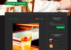 Création du site du Harry's Bar à Paris