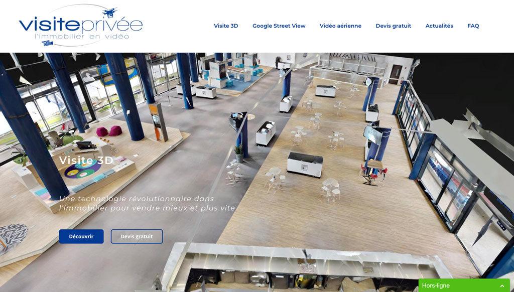 Diving in web - Création de site web - visiteprivee.fr 2018 Lyon