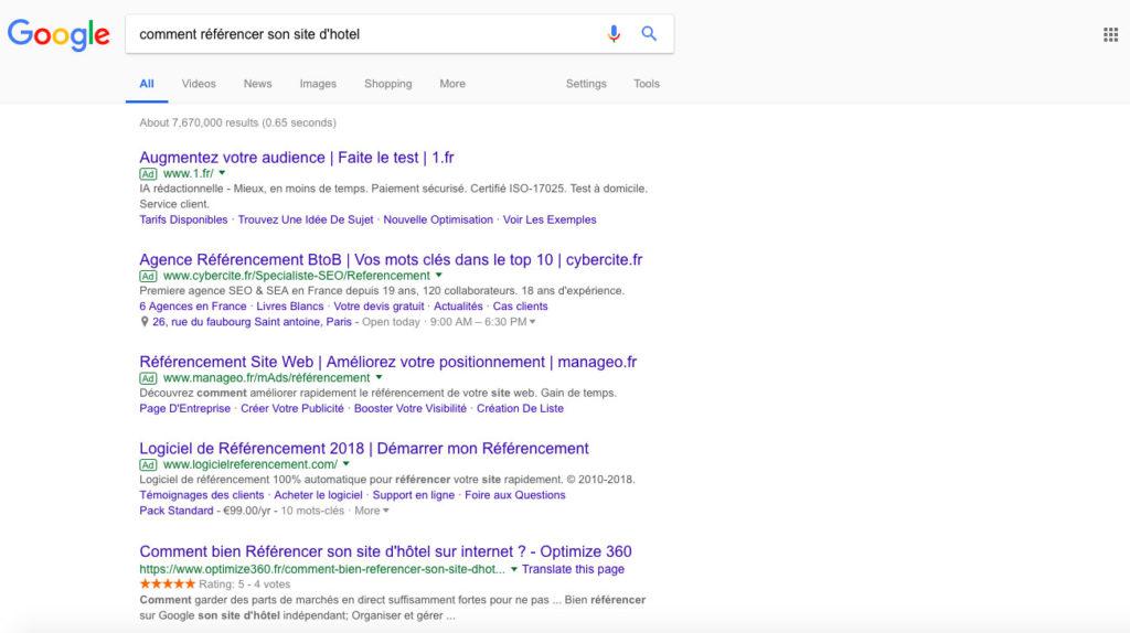 Diving in web - Référencement et Refonte de site web - Optimize360 France 2018