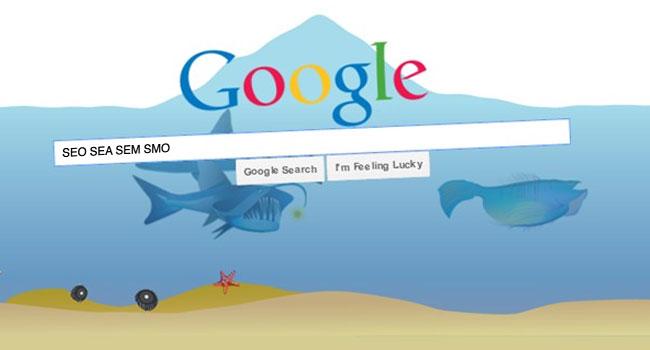 Diving in web Communication digitale Référencement Google et réseaux sociaux SEO SEA SEM SMO