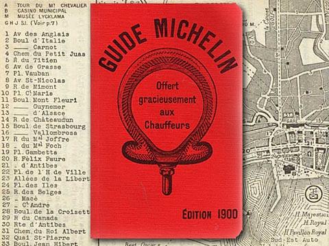 Brand content premier guide michelin 1900