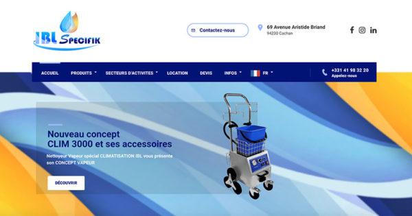 Diving in Web Refonte d'un nouveau site internet wordpress pour IBL Specifik Site woocommerce